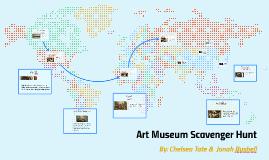 Copy of Art Museum Scavenger Hunt