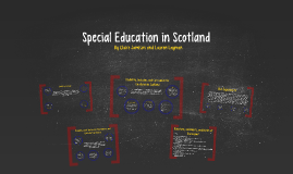 Special Education in Scotland