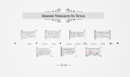 Slocum Massacre in Texas