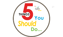 5 Things to do on the CPRS Website