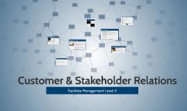 Customer & stakeholder relations