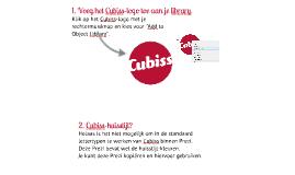 Copy of Tips voor Cubissten