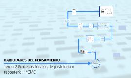 Tema 2 Procesos basicos de pasteleria y reposteria. 1ºCMC