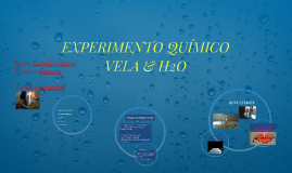 EXPERIMENTO QUIMICO