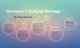 Germany's Cultural Heritage