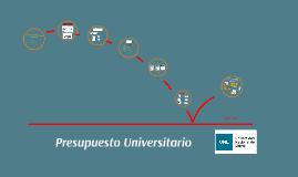 Presupuesto Universitario 2016