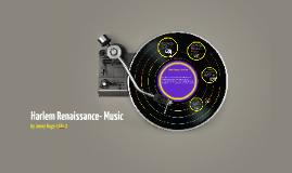 Harlem Renaissance- Music