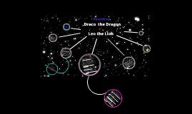 Draco & Leo Constellations