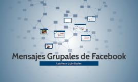 Mensajes Grupales de Facebook