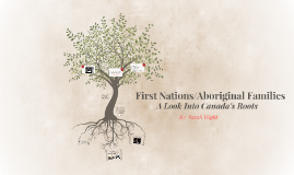 First Nations/Aboriginal Families