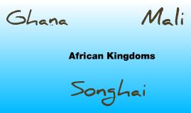 Ghana, Mali, Songhai