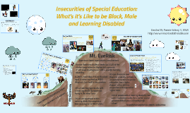 Copy of Insecurities of Special Education: What it's like to be Black, Male and Learning Disabled