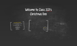 Welcome to Class 2CR's