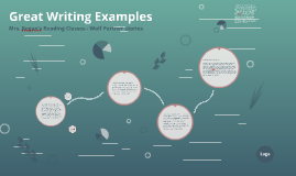 Great Writing Examples