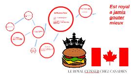 LE ROYA CUISNER CHEZ CANADIEN