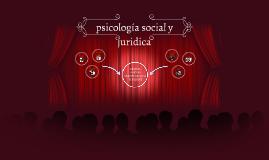 psicología social y juridica