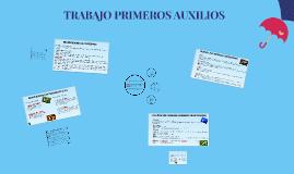 Copy of TRABAJO PRIMEROS AUXILIOS