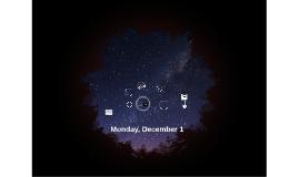 Monday, December 1