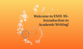 Copy of Welcome to ESL 505!: