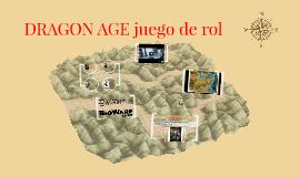 DRAGON AGE juego de rol
