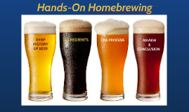 HCC HOMEBREWING Winter 2015