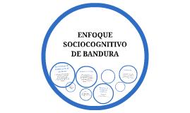 ENFOQUE SOCIOCOGNITIVO DE BANDURA