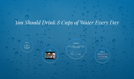 You Should Drink 8 Cups of Water Every Day