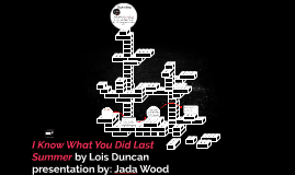 Copy of I Know What You Did Last Summer by Lois Duncan