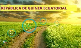 Guinea Ecuatorial, actualizado julio 2014