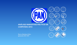 Proyecto final Marketing Político