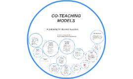 CO-TEACHING MODELS by isobel toby on Prezi
