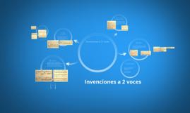 Invenciones a 2 voces