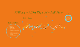 Ant Farm and Allan Kaprow