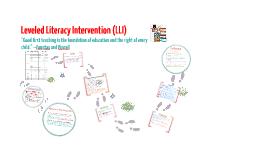 Copy of Leveled Literacy Intervention