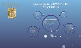 MODELOS DE ATENCIÓN EN ADICCIONES