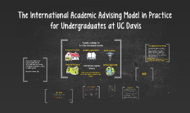 CA Collaborative Conference 2016: The International Academic Advising Model in Practice