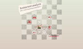 Restaurant analysis