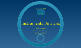 Copy of Instrumental Analysis
