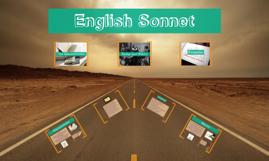 English Sonnet