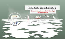 Introduction to Sublimation