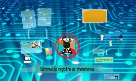 Copy of Sistema de registro de mercancias