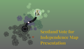 Scotlands Vote for Independence Maps