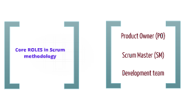 Copy of Scrum roles