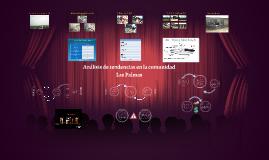 Análisis de tendencias en la comunidad Las Palmas