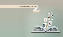 Love books week 2016
