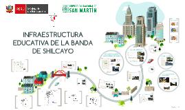 INFRAESTRUCTURA EDUCATIVA EN LA BANDA  DE SHILCAYO
