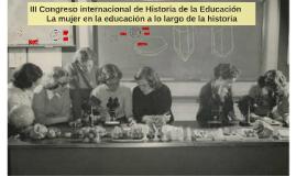 TARDE III Congreso internacional de Historia de la Educación