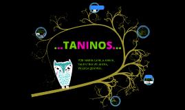los tanninos