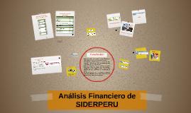 Análisis Financiero de SIDERPERU