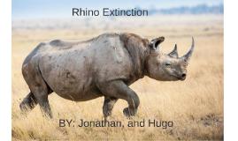 Rhino Extinction